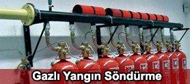 Gazlı Yangın Söndürme